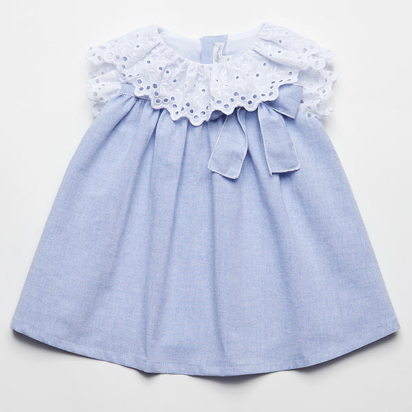 Fina Ejerique Baby Girls Blue Dress