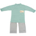 Floc Baby Boys Green & Grey Outfit Set