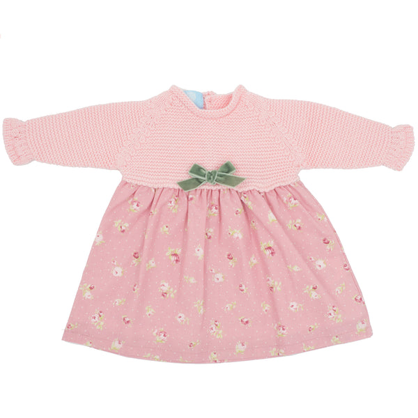 Floc Baby Girls Sweet Pink Dress