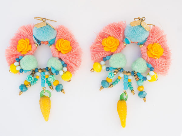 LC Tartaruga Island Tassel Earrings
