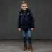 Le Chic Garçon Boys Navy Blue Jacket