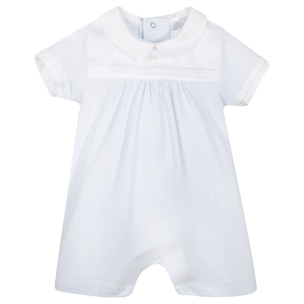 Patachou Baby Boys Blue Cotton Shortie