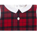 Patachou Baby Boys White & Red Tartan Babygrow