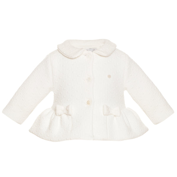 Patachou Baby Girls Ivory Jacket