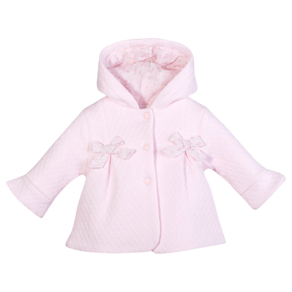 Patachou Baby Girl Pink Hooded Jacket