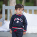 Patachou Boys Navy Yacht Sweater