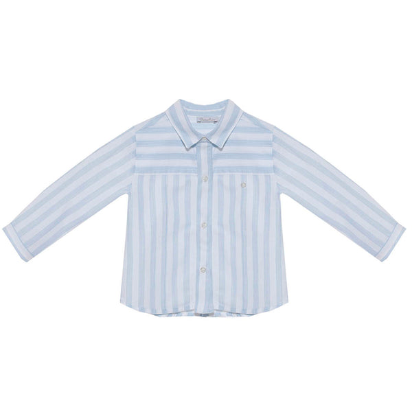 Patachou Boys Blue Striped Shirt