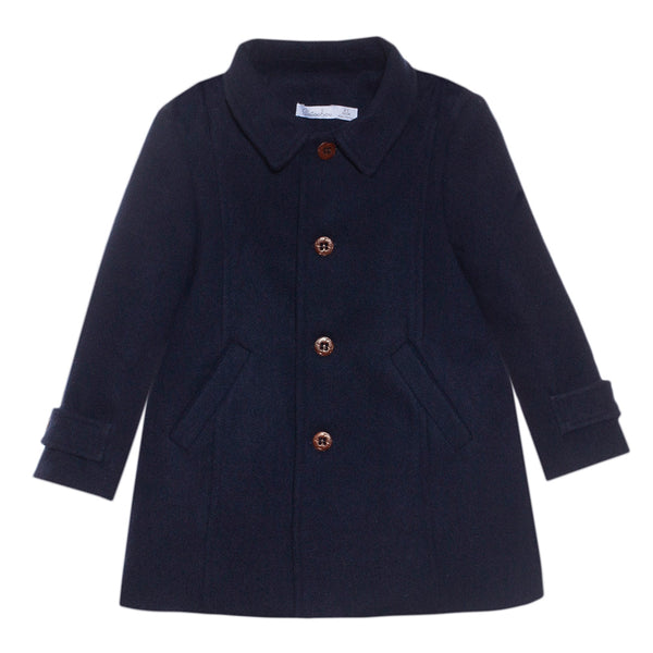 Patachou Boys Navy Coat