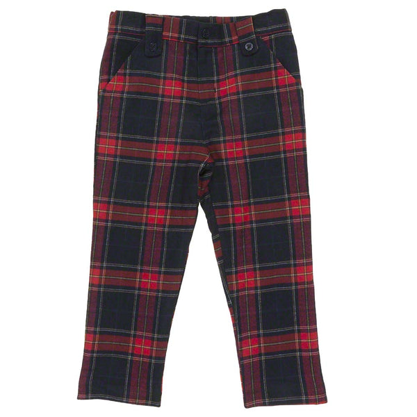 Patachou Boys Tartan Trousers