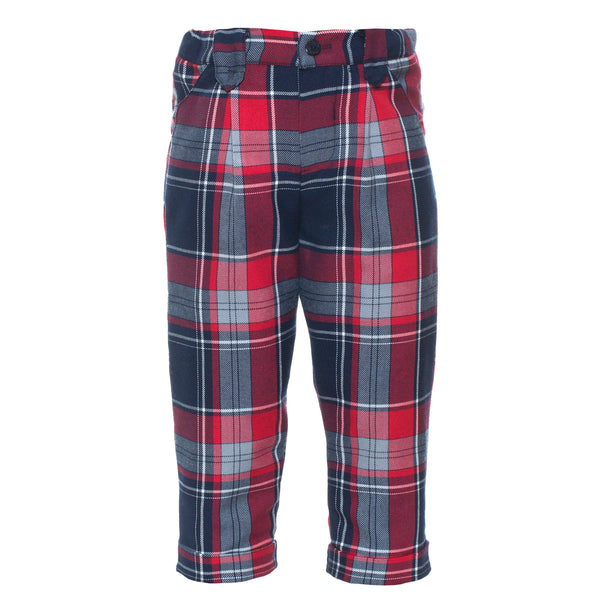 Patachou Boys Tartan Trousers Lucas & Luna