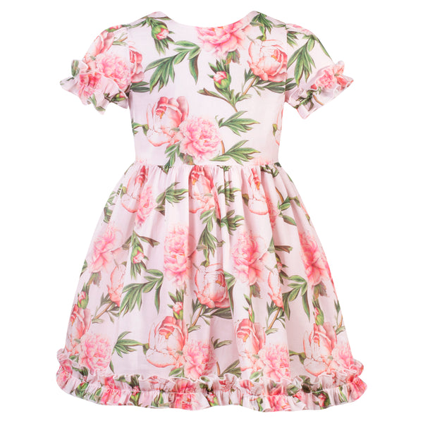 Patachou Girls Pink Floral Dress