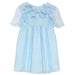 Patachou Girls Blue Chiffon Dress