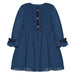 Patachou Girls Navy Blue Chiffon Dress