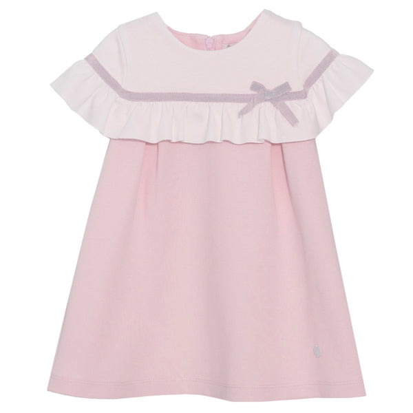 Patachou Girls Pink Cotton Jersey Dress