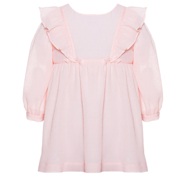 Patachou Baby Girls Pink Crêpe Dress
