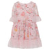 Patachou Girls Pink Chiffon Cupcake Dress