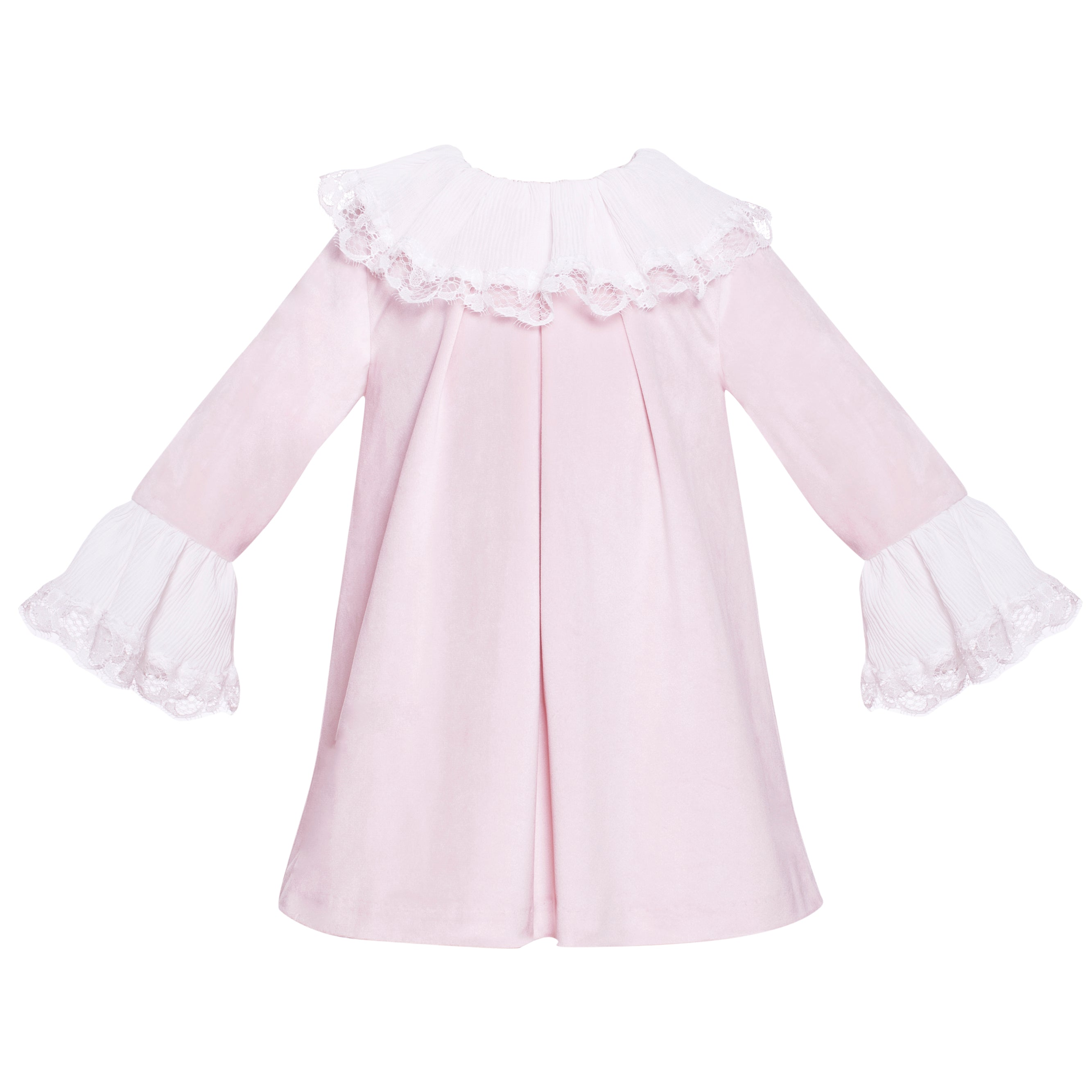 ef616a683fad Patachou Girls Pink Velvet Dress