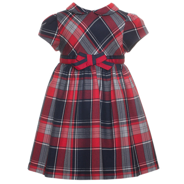 Patachou Girls Tartan Dress