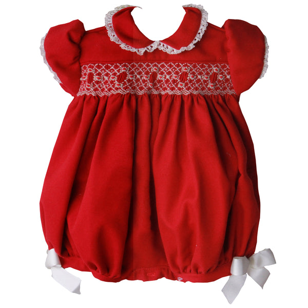 Pretty Originals Baby Girls Red Shortie Set