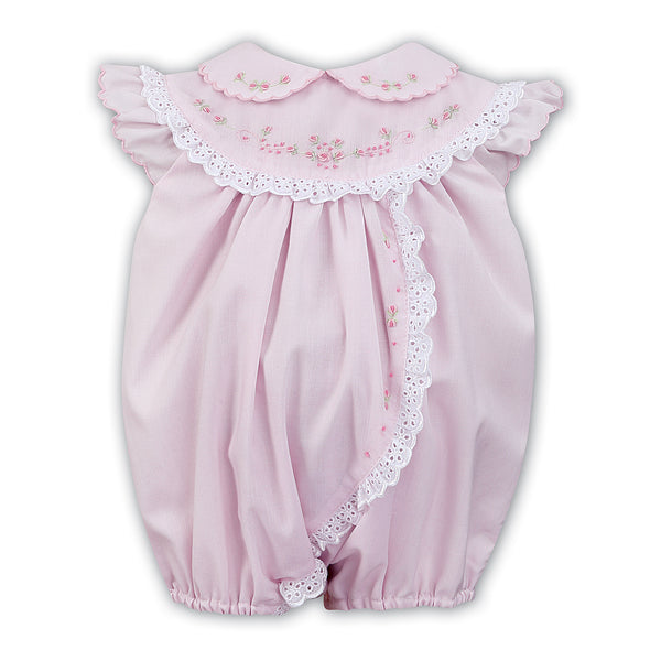 Sarah Louise Baby Girls Pink Shortie