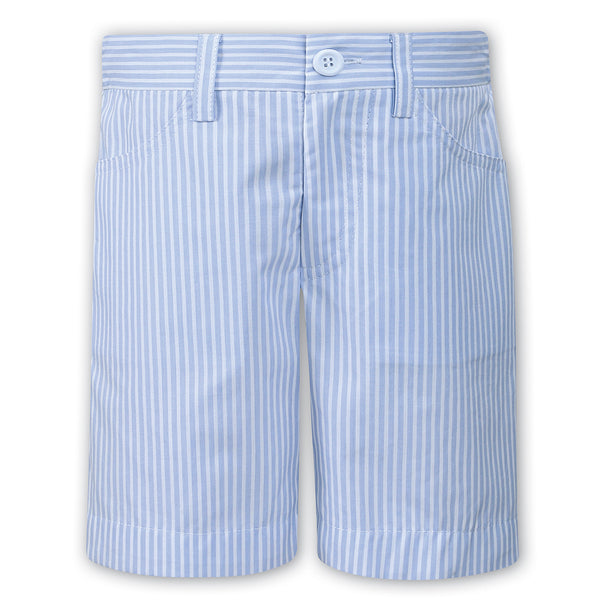 Sarah Louise Boys Blue Striped T-shirt & Shorts Set