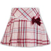 Sarah Louise Girls Pink Check Skirt Set
