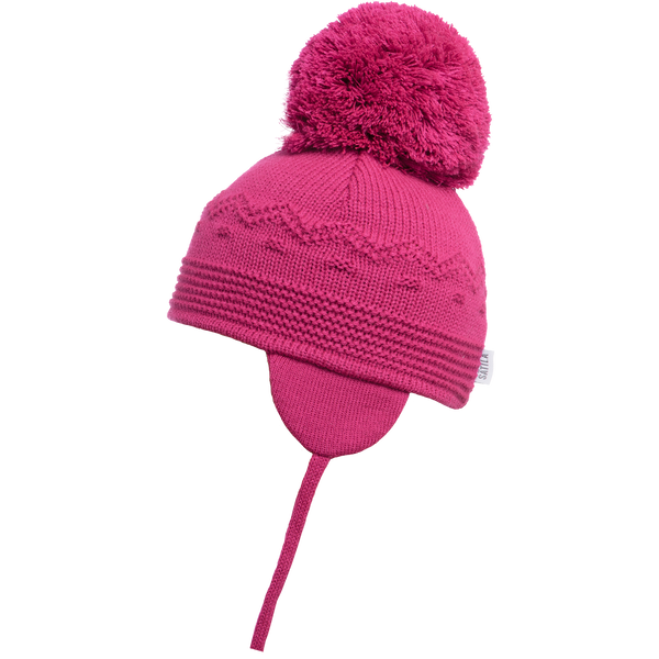 Sätila of Sweden Belle Cerise Big Pom Hat