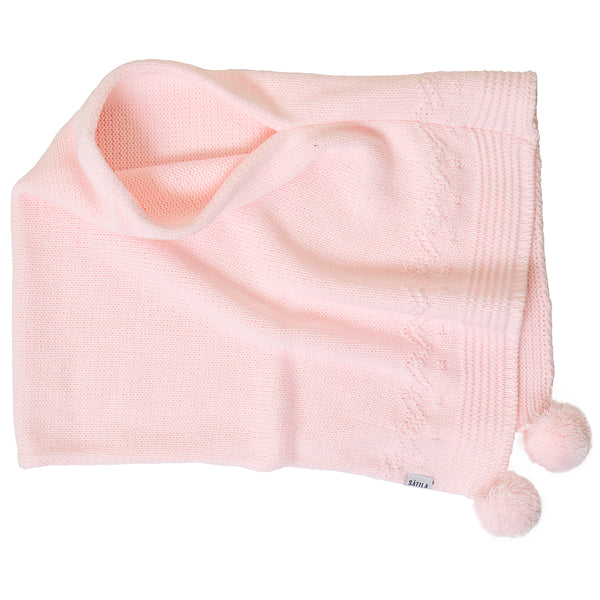 Sätila of Sweden Belle Light Pink Poncho