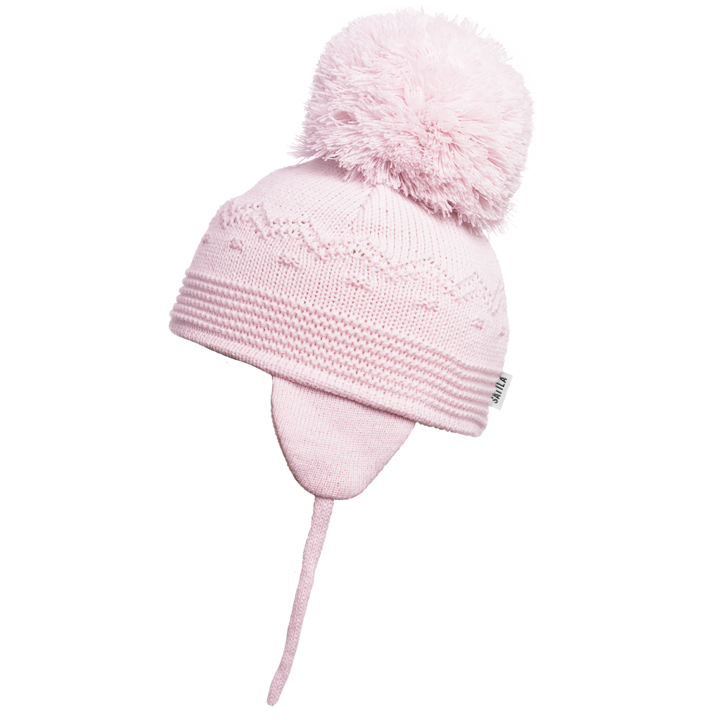 Sätila of Sweden Belle Pink Big Pom Hat