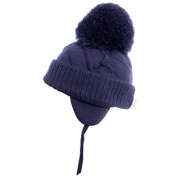 Sätila of Sweden Jim Navy Big Pom Hat
