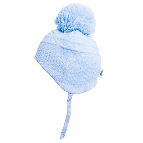 Sätila of Sweden Tiny Blue Pom-Pom Hat