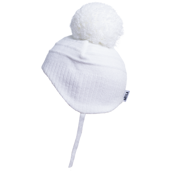 Sätila of Sweden Tiny White Pom Pom Hat