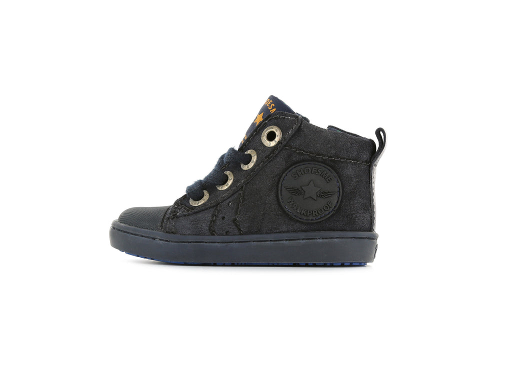 Shoesme Boys Navy Suede Urban Boots