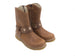 Shoesme Girls Brown Leather Cowgirl Boots