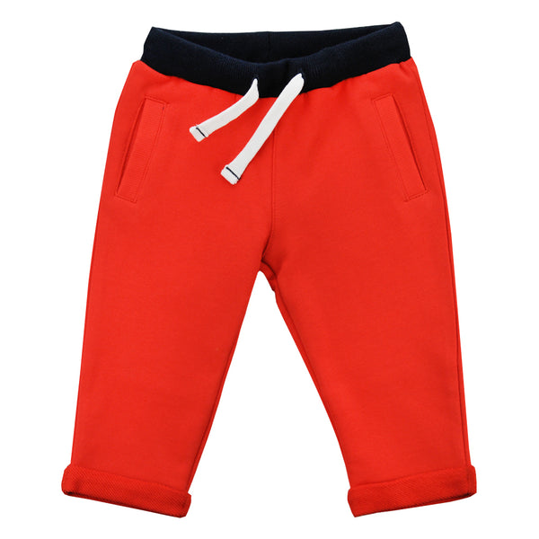 Weekend à la Mer Orange Joggers