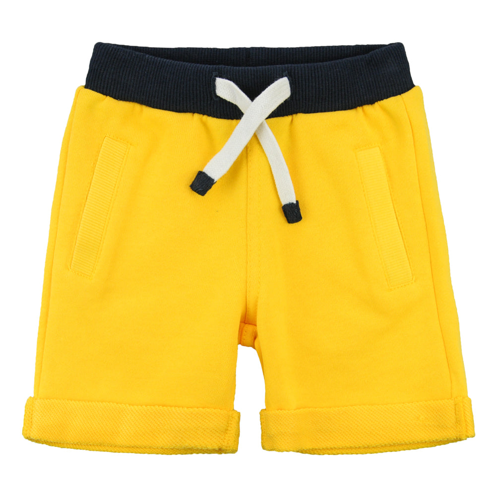 Weekend à la Mer Yellow Shorts