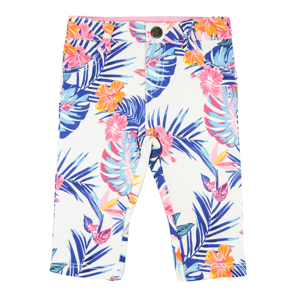 Weekend á la Mer Girls Tropical Leggings