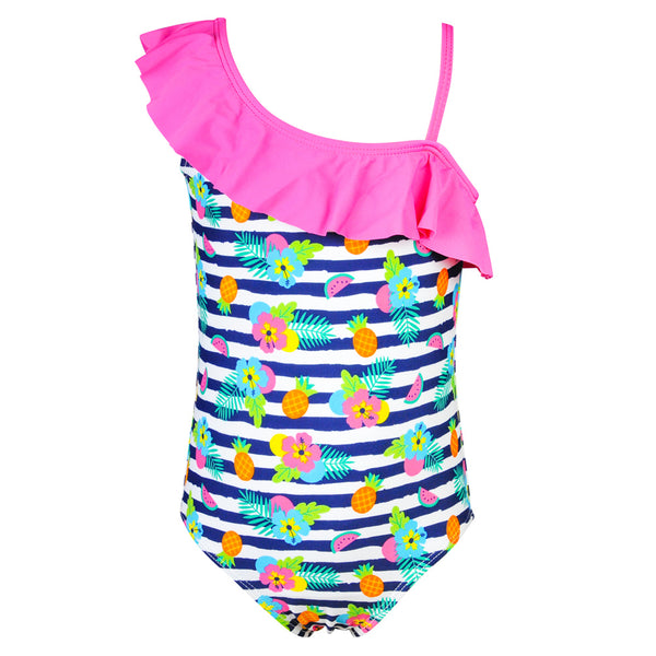 Weekend à la Mer Girls Tropical Swimsuit