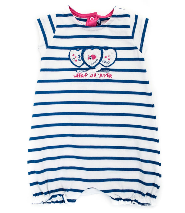 Weekend à la Mer Heart Romper