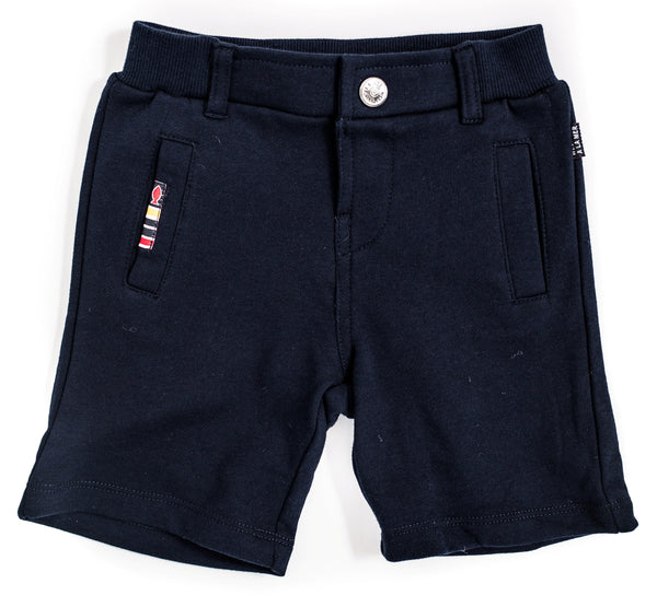 Weekend à la Mer Navy Jersey Shorts