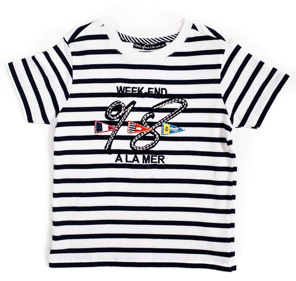 Weekend à la Mer Stripe T-Shirt