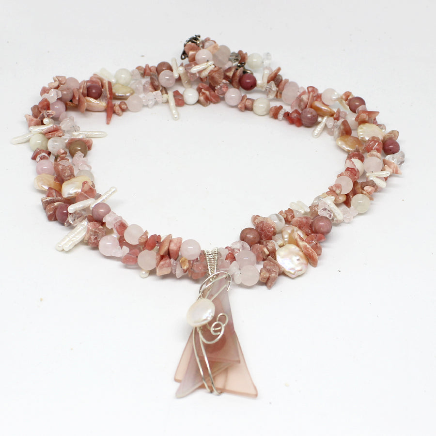 Sophia Goddess  Necklace of Compassion