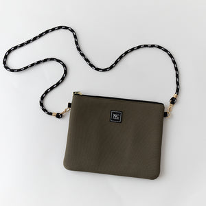 Khaki NC Cross Body Bag