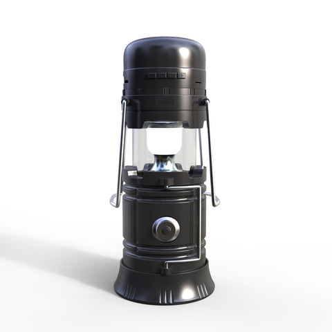 5 In 1 Retractable LED Solar Lantern - Todaycamping