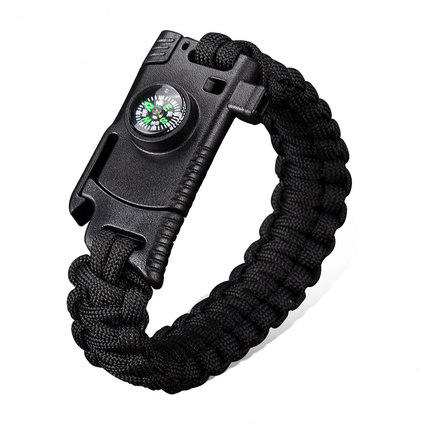 4 In 1 EDC Survival Bracelet Outdoor