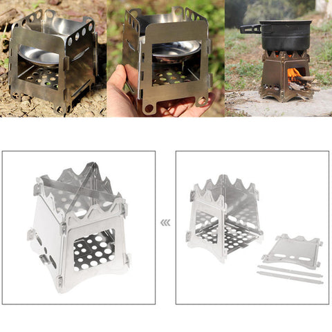 Portable Wood Stove For Camping - Todaycamping