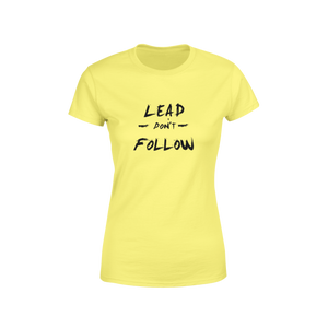 Lead Don't Follow