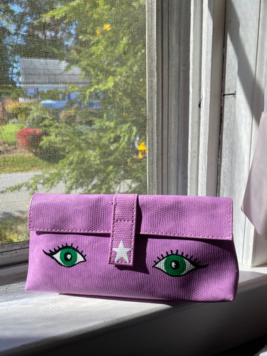 Oracle Eye Purple Pouch - Majestic Hudson Lifestyle Experiences