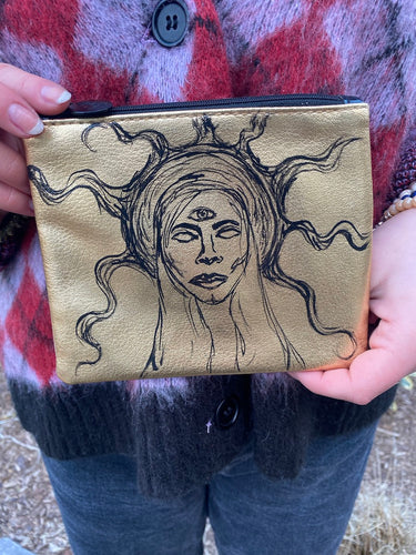 Third Eye Goddess Pouch - Majestic Hudson Lifestyle Experiences