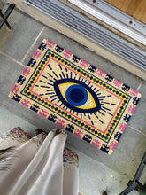 Load image into Gallery viewer, Evil Eye Doormat